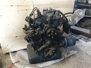 Kubota diesel engin 2 cylinder