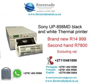 Sony ultrasound printer for only R14999 CONTACT PATRICK ON 0110461898