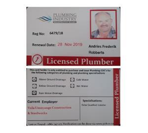 Plumbers for all plumbing you need