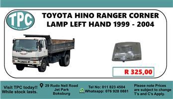 Toyota HINO Ranger  Corner Lamp Left Hand 1999 - 2004