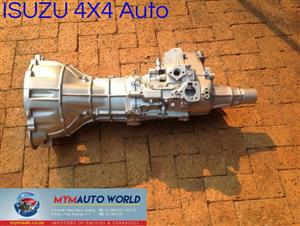 Imported used ISUZU 4X4 AUTOMATIC gearboxes. Complete second hand used gearbox