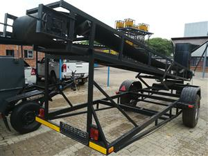 Mobile Conveyor Trailor 6m With Feeder
