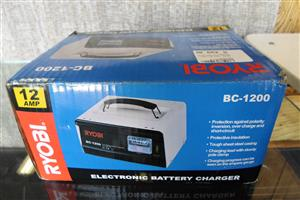 12AMP Ryobi BC-1200 Electronic Battery Charger