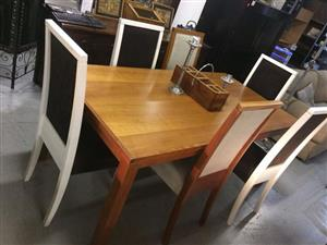 Sevens Dining Table and Chairs
