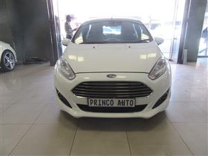 2018 Ford Fiesta 5 door 1.0T Titanium