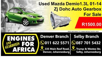 Mazda Demio 1.3L 2003 Dohc Zj Gearbox For Sale