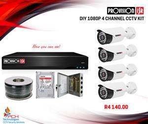 CCTV CAMERA DIY KITS Provision !!!