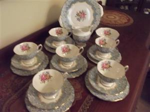 Royal Albert Enchantment 21 piece tea set R 5500.