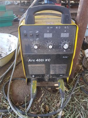 ARC 400i XC Welding Machine for Sale with cables