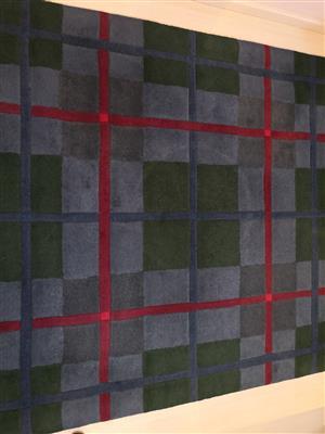 Hand Tufted Pure Wool Rug Scotish