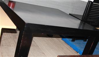 S034292A Black dining table #Rosettenvillepawnshop