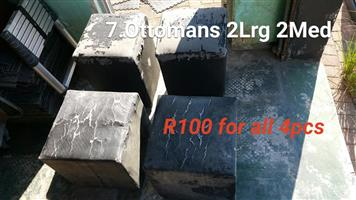 4 Ottomans for sale