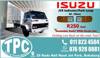 Isuzu JCR Indicator/Park Lamp - New - Quality Replacement Truck Body Spare Parts.