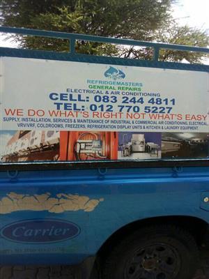Refridgeration Services And Repairs