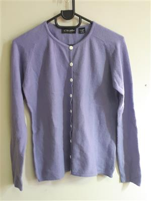 Lilac Cardigan with buttons