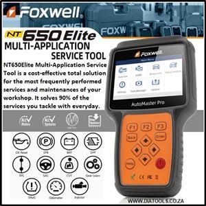 New Foxwell NT650Elite Multi-Application Service Tool Latest version