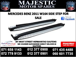 Mercedes benz W164 side step for sale