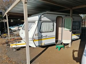 Various caravans available from R45 000 to R56 000