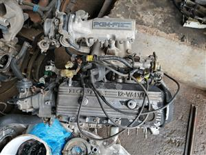 Selling Honda pop up light fuel injection engine