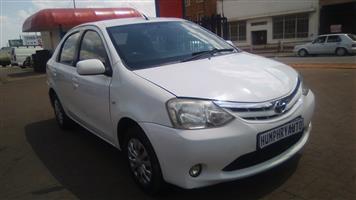 2013 Toyota Etios sedan 1.5 Xi