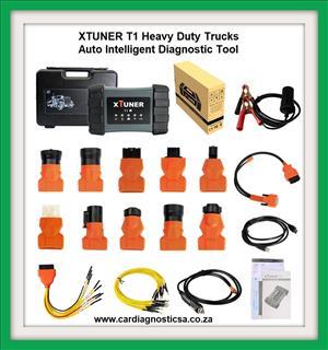TRUCK DIAGNOSTIC TOOL: XTUNER T1 HD V13.1 Heavy Duty Trucks Auto Intelligent Diagnostic Tool