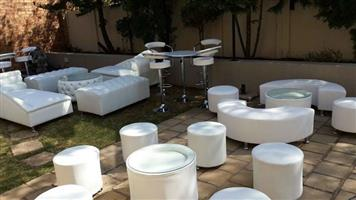 EVENTS FURNITURE MADE TO ORDER,CHOOSE YOUR FABRIC AND COLOUR