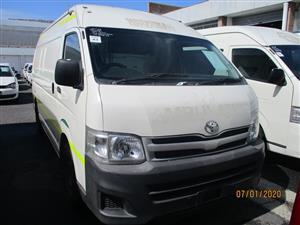 2012 Toyota Quantum 2.7 panel van