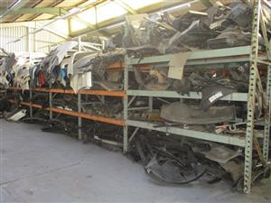 Quantity used car parts - ON AUCTION
