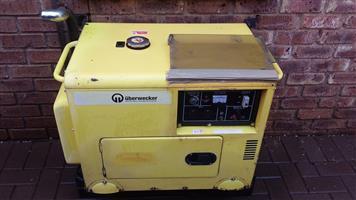 6kVA Uberwecker Diesel Generator