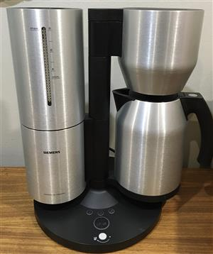 Siemens Porsche Design coffee percolator