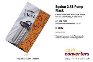 Equico 3.5 Pump Flask