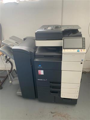 Laser Digital Printer, gelatin cutter and electrical cold laminator
