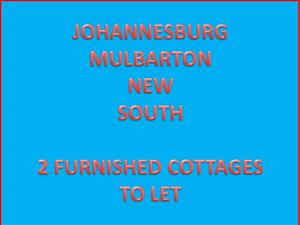 2 FURNISHED COTTAGES TO RENT