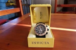 Invicta Sea Bass cronograph watch.