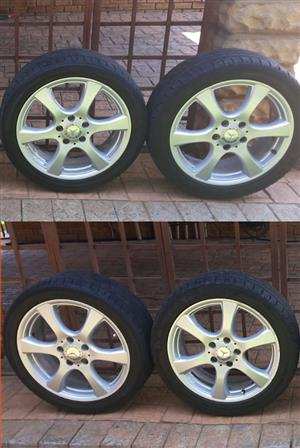 Mercedes OEM Wheels and Tires