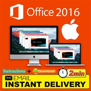 Microsoft office 2016 home and business for MAC installation