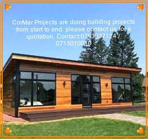 We build modern wooden houses
