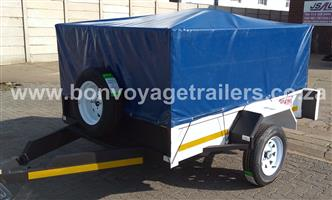 CUSTOM UTILITY TRAILER WITH TARP FOR SALE