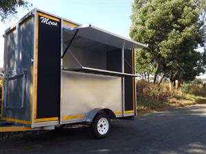 Food trailers, Mobile Kiosk, Mobile Toilet