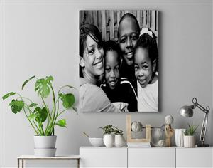 Custom Canvas Prints with design included (841 x 1189 mm)