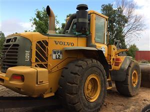 Volvo l120e  front end loader