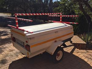 Venter Trailer 1.8m (6ft) with Roof Rack