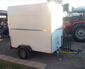 S3108 White U Make Fast Food Trailer / Kitskos Wa New Trailer