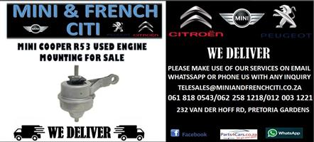 MINI COOPER R53 USED ENGINE MOUNTING FOR SALE