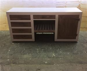Kitchen Cupboard Base unit Farmhouse series 2000 Version 2 - Two toned