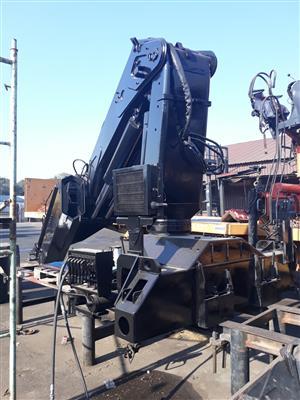 Used Hiab 550.3 Truck Crane [55tm] | CRANE CLINIC