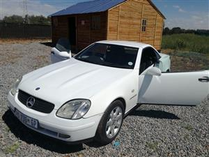 1999 Mercedes Benz SLK 200 Kompressor Sports