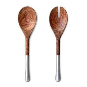 Humble and Mash Set of 2 Wooden Salad Servers