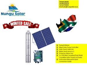 Solar Borehole Pump Full Kit