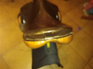 "Jeffries England 17"" Medium Wide Showjumping Saddle for Sale"